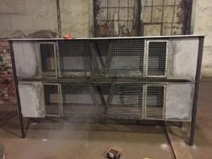 Двухэтажные клетки для кроликов своими руками